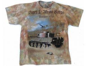 tričko tiger I afrika korps 1943