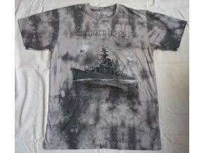tričko bitevní loď scharnhorst
