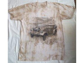 tričko auto kubelwagen