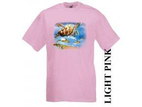 levné-dětské-tričko-UV_potisk-pirát-želvy-růžové