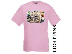 levné-dětské-tričko-UV_potisk-pirát-zvířata-růžové