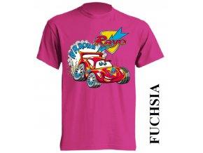 dětské_tričko-fuchsiové-autíčko-blesk