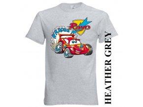 bavlněné-dětské-tričko-šedé-potisk-auta