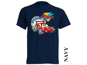 bavlněné-levné-dětské_tričko-tmavě_modré-potisk-auta