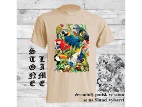 tricko natural ptaci raj