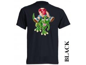 levné-dětské-tričko-černé-t_rex