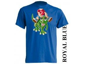 dětské_tričko-modré-potisk-t_rex