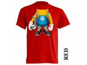 levné-dětské-tričko-mimoni-cervene