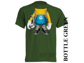 bavlněné-dětské_tričko_s_potiskem-tmavě_zelené-mimoň