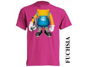 dětské_tričko-fuchsiové-tmavě_růžové-mimoň