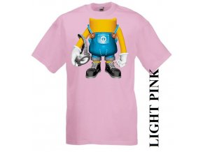 dětské-tričko-růžové-motiv-mimoň