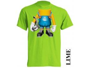 dětské-tričko-limetkové-potisk-mimoň