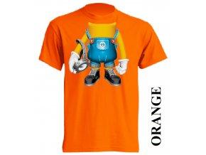 film-dětské_tričko-oranžové-motiv-mimoni