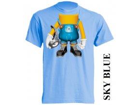 dětské-tričko-světle_modré-motiv-mimoň