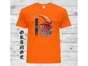 oranzove tricko basketbal