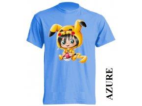 levné-dětské-tričko-azurově_modré-pokemon-pikachu