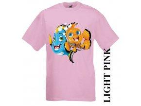 dětské-tričko-růžové-motiv-dory-nemo