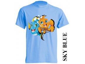 dětské-tričko-světle_modré-motiv-hledá_se_nemo