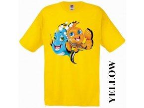 bavlněné-levné-dětské-tričko-žluté-nemo
