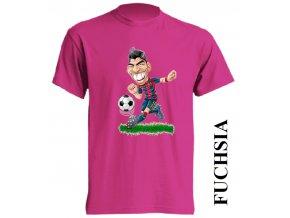 dětské_tričko-fuchsiové-tmavě_růžové-suarez