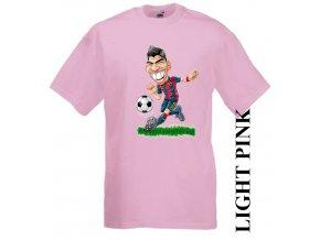dětské-tričko-růžové-motiv-fotbalista