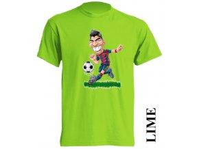 dětské-tričko-limetkové-potisk-fotbalista-suarez