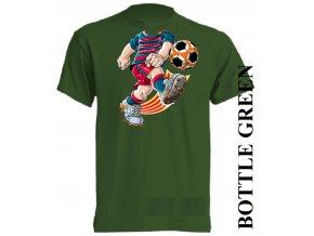 bavlněné-dětské_tričko_s_potiskem-tmavě_zelené-barcelona
