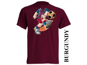 bavlněné-dětské-tričko-vínové-burgundy-fotbalista_barcelony