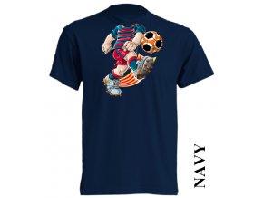 bavlněné-levné-dětské_tričko-tmavě_modré-potisk-barca