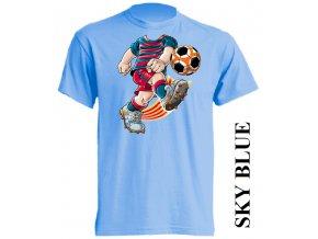 dětské-tričko-světle_modré-motiv-fotbalista-barcelona