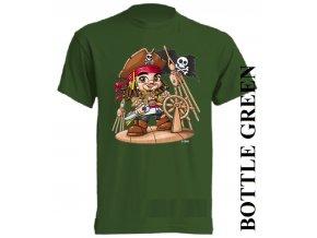 bavlněné-dětské_tričko_s_potiskem-tmavě_zelené-deep