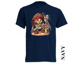 bavlněné-levné-dětské_tričko-tmavě_modré-potisk-johnny_deep