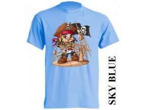 dětské-tričko-světle_modré-motiv-pirát-karibik