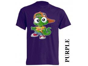 levné-dětské_tričko-fialové-americký_maskot