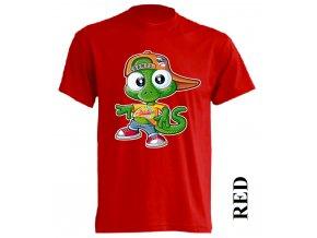 levné-dětské-tričko-červené-team