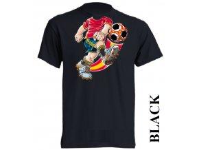 levné-dětské-tričko-černé-fotbalista