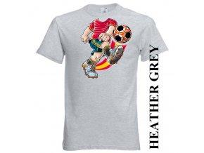 bavlněné-dětské-tričko-šedé-potisk-fotbal-klub