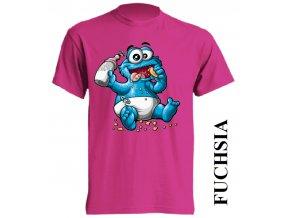dětské_tričko-fuchsiové-tmavě_růžové-cookie_monster