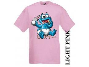 dětské-tričko-růžové-motiv-cookie-monster