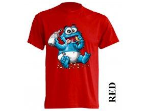 levné-dětské-tričko-červené-monsters