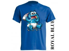 dětské_tričko-modré-potisk-monster