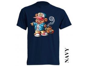bavlněné-levné-dětské_tričko-tmavě_modré-potisk-street_dance