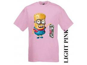 dětské-tričko-růžové-motiv-bart_simpson