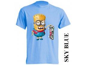 dětské-tričko-světle_modré-motiv-bart_simpson