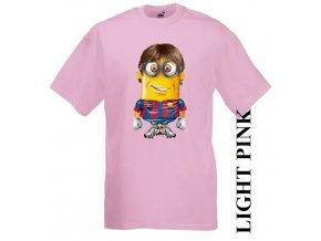 dětské-tričko-růžové-motiv-fotbalista-messi