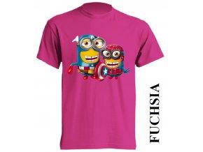 dětské_tričko-fuchsiové-tmavě_růžové-marvel
