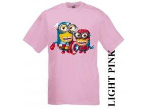 dětské-tričko-růžové-motiv-captain_america