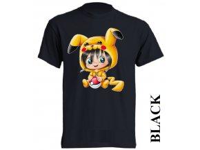 levné-dětské-tričko-černé-pokemon