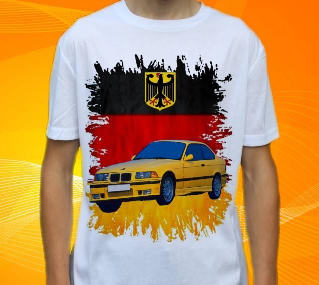 Dětské a pánské tričko s autem BMW M3 E36 Velikost: M