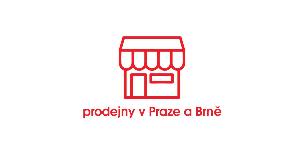 Prodejna nábytku Čilek v Praze i Brně